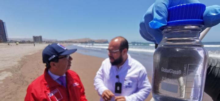 Aguas de playas ariqueñas cumplen con norma sanitaria para uso recreacional