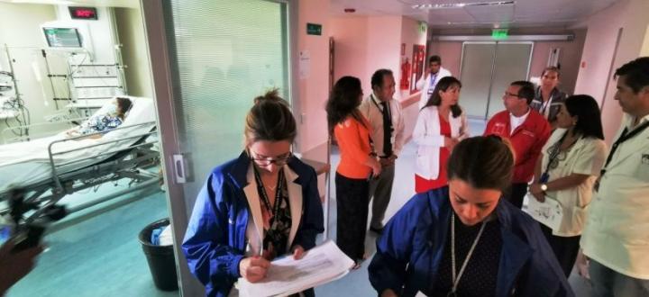 En Arica realizan simulacro de paciente afectado con Coronavirus